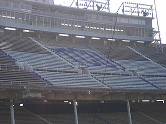 TCU Horned Frogs - Upper Deck of Amon G. Carter Stadium