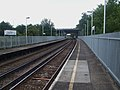 Upper Halliford stn look west.JPG