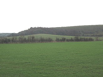 A350 road - Image: Upton Cow Down geograph.org.uk 84975