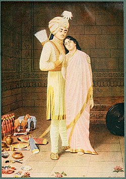 Uttara crying for her husband.jpg