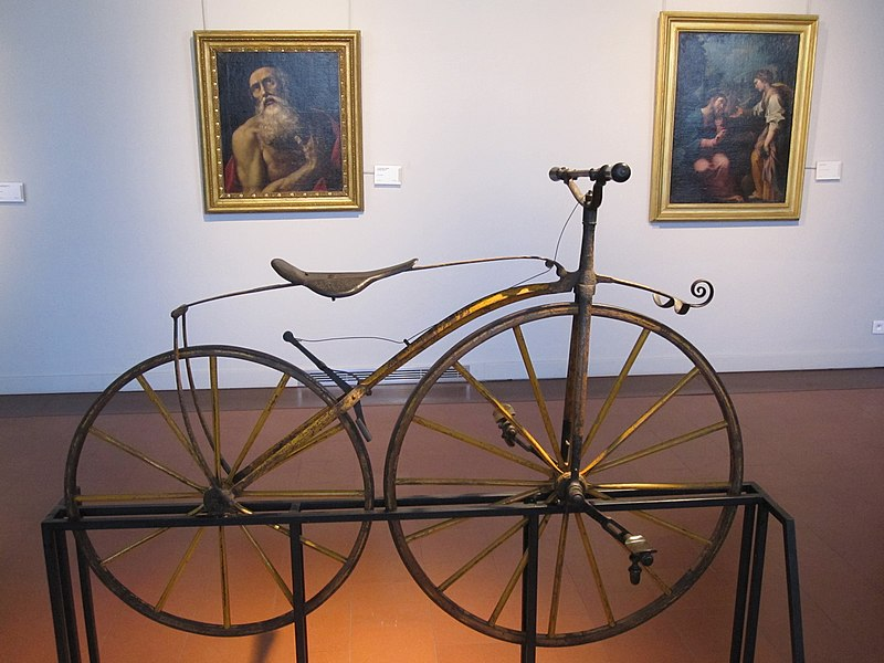 Vélocipède du Museo Napoleonico.JPG