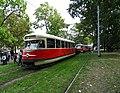 Výstaviště Holešovice, historické tramvaje 2015, vůz 6002.jpg