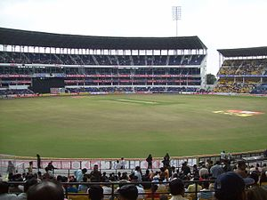 English: VCA Grounds in the city of Nagpur, Ma...