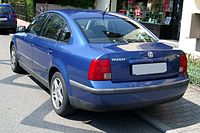 VW Passat B5 rear 20080816.jpg