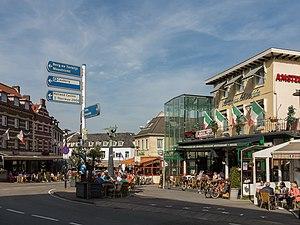 Valkenburg, Blick auf die Strasse: de Cauberg-de Dalhemerweg-de Wilhelminaweg