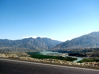 Valleys of Afghanistan - The river valleys between Jalalabad and Kabul