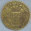 Valois, luigi xii, piefort dello scudo d'oro con istrici, 1507.JPG