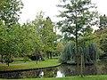 Van Bergen IJzendoornpark in Gouda 02 Vijver.jpg