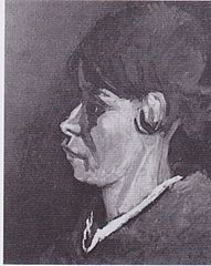 Head of a Peasant Woman