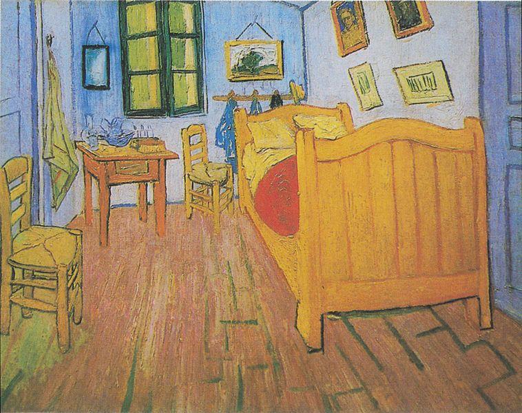 file:van gogh - vincents schlafzimmer in arles1 - wikimedia, Schlafzimmer