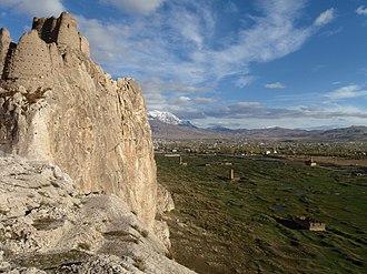 Tushpa - The citadel of Van and the ruins of Tushpa below