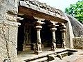 Varaha Cave near Krishna Butter ball.jpg