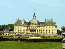 Το ανάκτορο Vaux le Vicomte