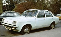 Vauxhall Chevette 4 door notchback Trumpington.jpg