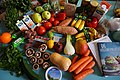 Vegan and vegetarian grocery shopping and cookery books.jpg