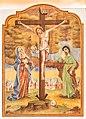 Velden Augsdorf Pfarrkirche hl. Maria Rosenkranzkönigin Kreuzigungsgruppe 24122019 7754.jpg