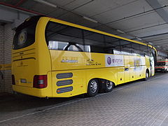 Category:Association football team buses in Germany