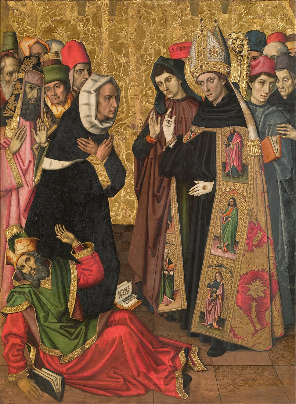 Vergós Group - Saint Augustine Disputing with the Heretics - Google Art Project