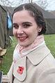 Verkleed joods meisje bevrijdingsfestival Brielle.jpg