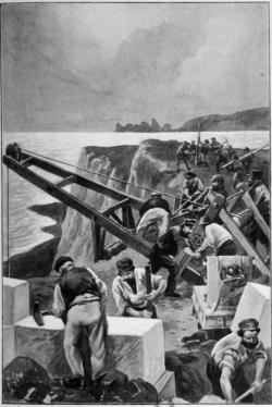 Verne - Les Naufragés du Jonathan, Hetzel, 1909, Ill. page 426