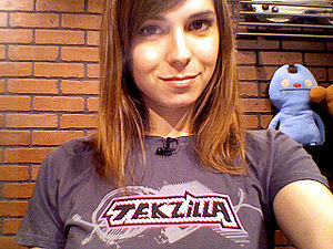Veronica Belmont - Veronica Belmont, host of Tekzilla, March 10, 2009