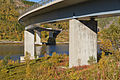 Vesterstraumen Bridge crossing Vesterstraumen, Nordland, Norway, 2015 September.jpg