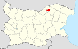 Vetovo Municipality within Bulgaria and Ruse Province.