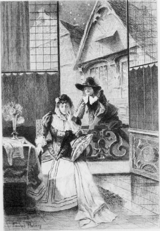 Marion de Lorme (Hugo) - Didier visits Marion de Lorme in her bedchamber.