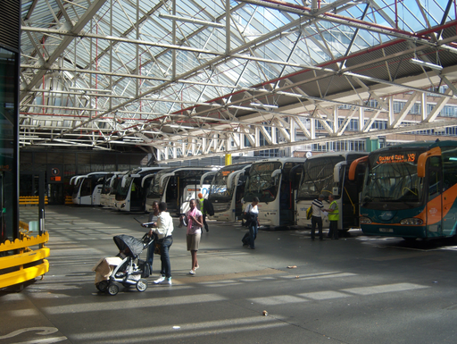 Victoria coach station london 2010