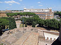 View from Castel Sant'Angelo 7 (15465556462).jpg