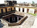 View into the courtyard from roof of Bedi Mahal 01.jpg