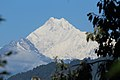 View of Kanchenjunga from Gantok Flower Garden.jpg