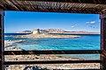 View of La Pelosa, Stintino (Sardinia, Italy) (24097698416).jpg