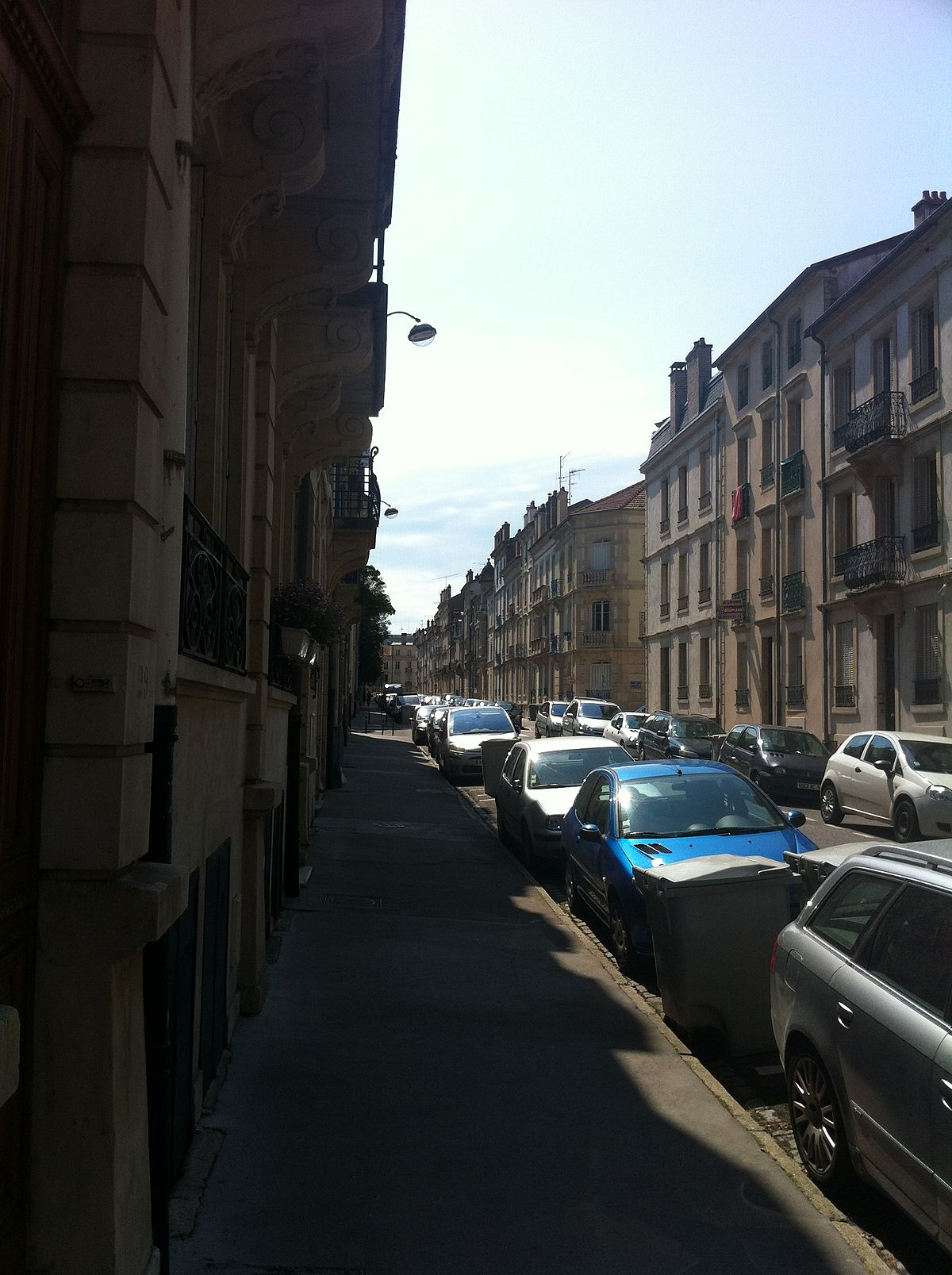 Rue pasteur nancy wikip dia for Rue catherine opalinska nancy