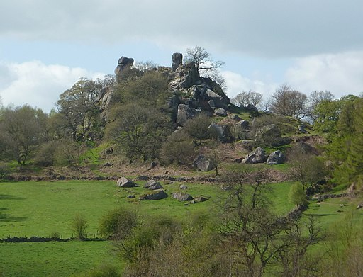 View to Robin Hood's Stride - geograph.org.uk - 2360761