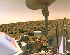 1976 in spaceflight - Viking 2 on the surface of Mars