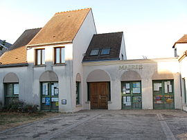 The town hall in Villeneuve-sur-Auvers