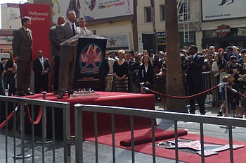 Vince McMahon - Hollywood Walk of Fame