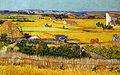 Vincent Van Gogh, A Harvest Landscape with Blue Cart.jpg