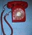 Vintage Red Telephone.JPG