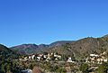 Vista cap a la serra d'Espadà des de la muntanyeta de sant Josep, la Vall d'Uixó.JPG
