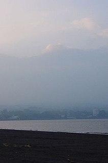 Volcanic smog