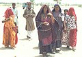 Voters going toward the polling station in Barmer, Rajasthan during the third phase of General Election-2004 on May 5, 2004.jpg