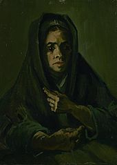 Woman with a Mourning Shawl