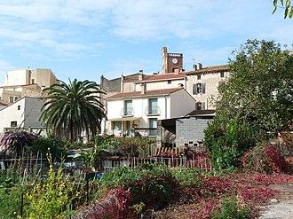 Sorède - A general view of the village of Sorède