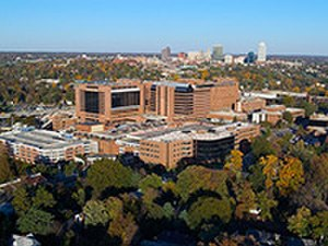 Wake Forest Baptist Medical Center - Image: WFBMC Aerial image