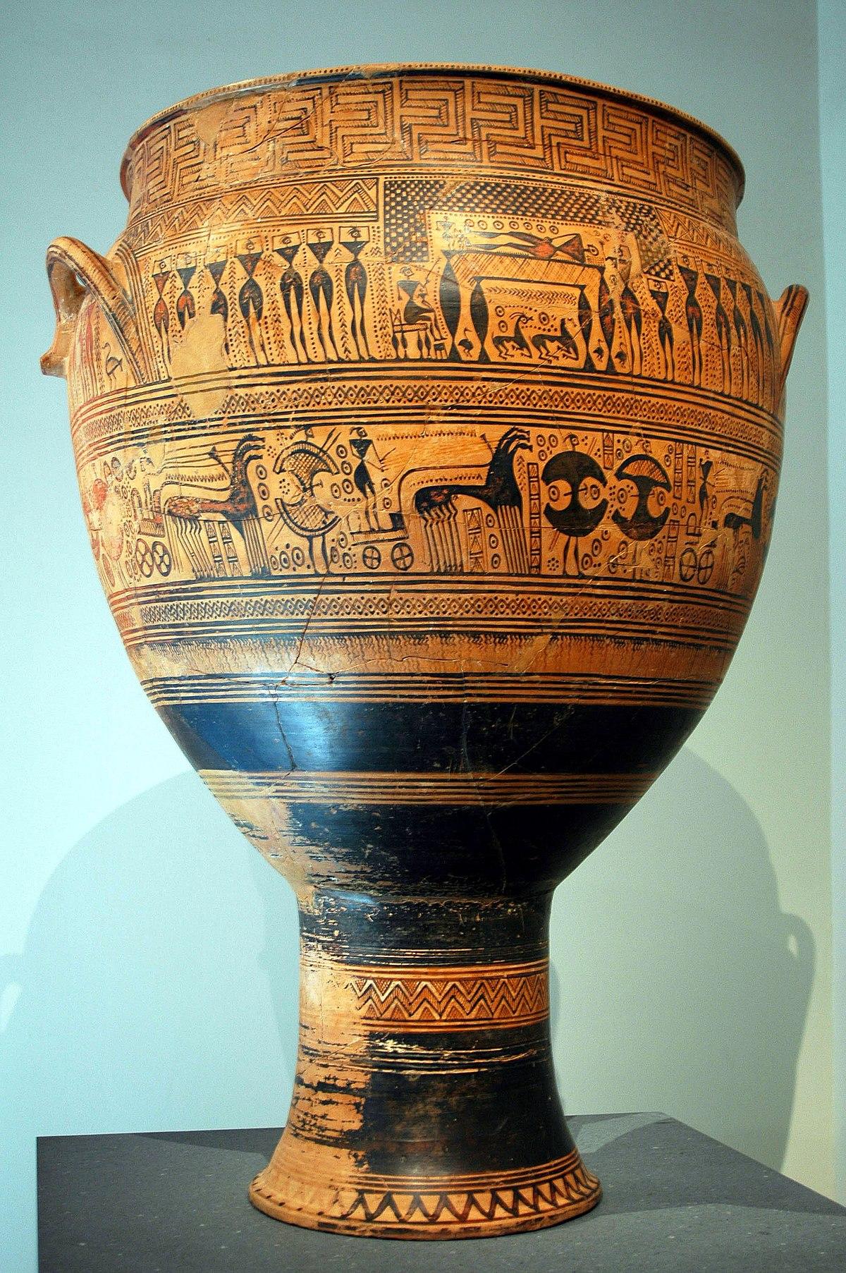 Ancient greek funerary vases wikipedia for Vaso attico
