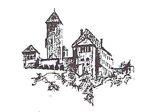 Weinheimer Senioren-Convent - The castle Wachenburg in Weinheim is the symbol of the Weinheimer Senioren-Convent. It was specifically designed and built as fraternity meeting point in 1907-13 by the alumni WSC's organization WVAC.