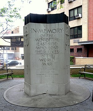 East Side (Manhattan) - East Side War Memorial