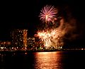 Waikiki Hilton Fireworks (4608140598).jpg